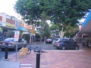 Gympie shopping street