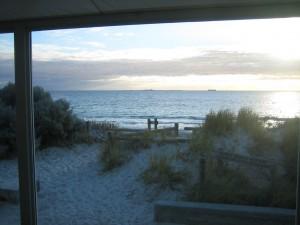 The Indian Ocean from the Salt on the Beach Bar