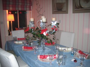 What a beautifully dressed table