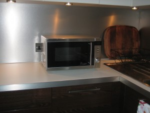 Shiny new microwave for 2010