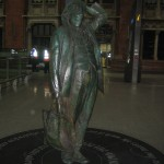 John Betjeman in St Pancras